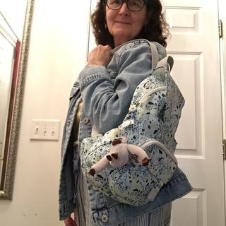 Queenie Backpack - On the way to Outdoor Concert