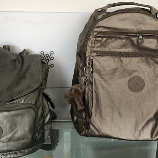 My 2 Kipling backs packs , the best backpacks I ever had!
