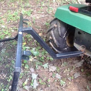ADAPTER FROM CART TO TRACTOR