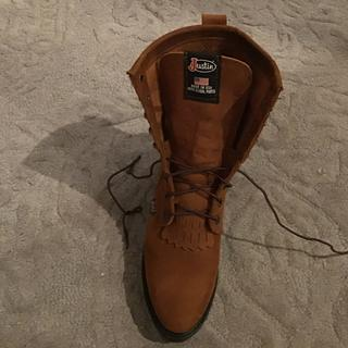 0997835d7c4 Justin Mens Double Comfort Lacer Work Boots 7D Bro - Statelinetack.com