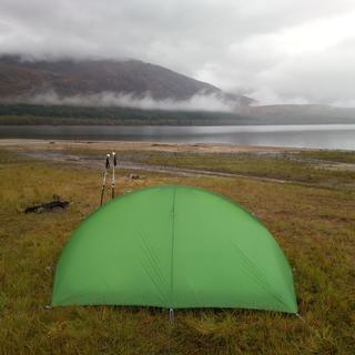 Wild camp in Scotland