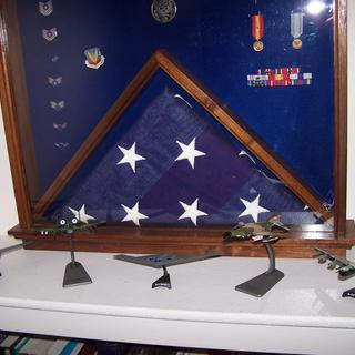Overall view of the display