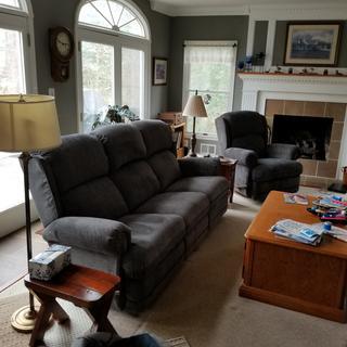 Kirkwood sofa & recliner