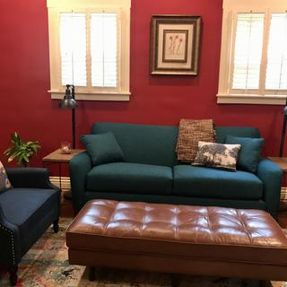 Teal Dolce Sofa