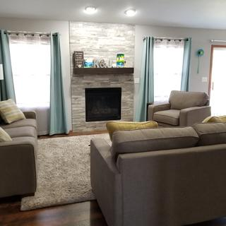 Meyer sofa, loveseat, and chair set.