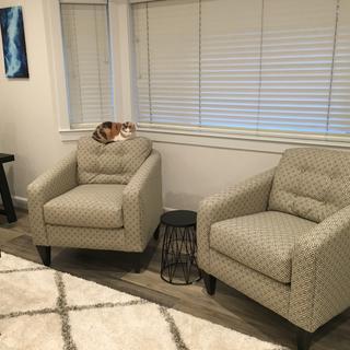 Wonderfully comfy and stylish Jazz Chairs.