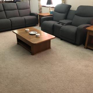 Levi Wall Reclining sofa and love seat.