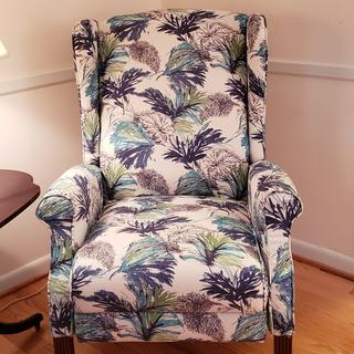 Love our La Z Boy Recliner.  Comfortable & stylish.  Available in many different fabrics.