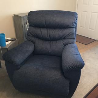 My new Joshua recliner!  So comfy :)