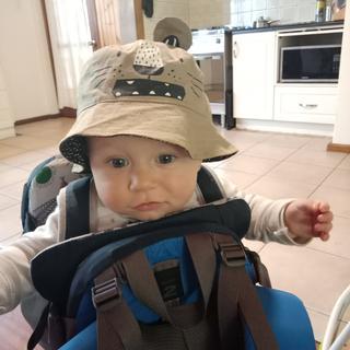 Ready to go, mum!