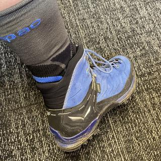 Love these socks! Feet don't get too hot & they feel great in my tramping boots also from Macpac.