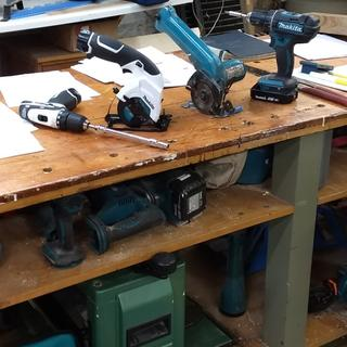 replacing old 9V saw and lighter than 12V drill