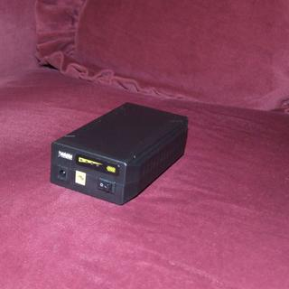 12 volt power pack, can also charge cell phone