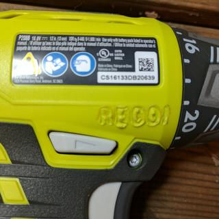 """""""RECON"""" stamp on side.  rest of driver is flawless"""