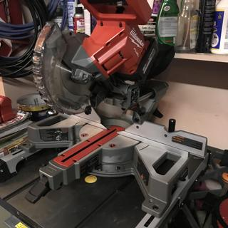 Not on Miter Saw Stand on table saw