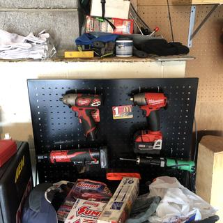 Tool box impact tools