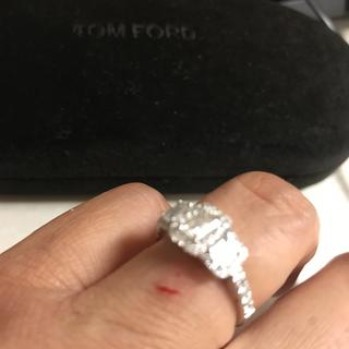 This is what happened each time I bumped my ring.