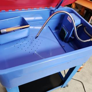 20 gal  Parts Washer with Pump