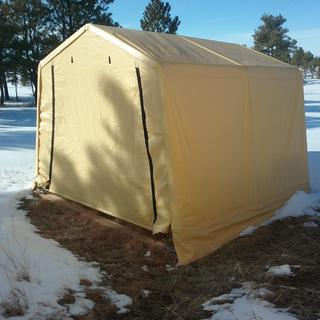 10 ft  x 10 ft  Portable Shed