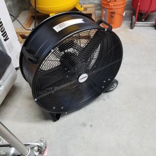 24 in  High Velocity Shop Fan