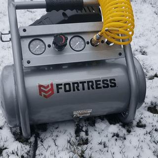4 Gallon 1 5 HP 200 PSI Oil-Free Professional Air Compressor