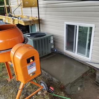 3-1/2 Cubic Ft  Cement Mixer