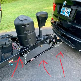 10000 Lb Capacity Weight Distributing Hitch