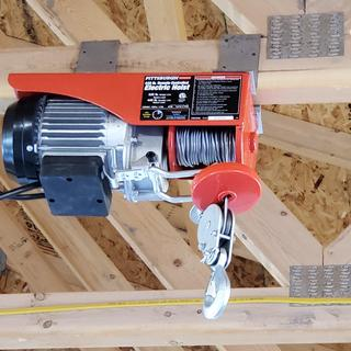 440 Lbs. Electric Hoist with Remote Control Harbor Freight Hoist Wiring Diagram on