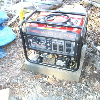 8750 Watt Max Starting Gas Powered Generator - EPA III
