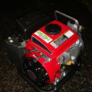 1 in  79cc Gasoline Engine Clear Water Pump - 35 GPM