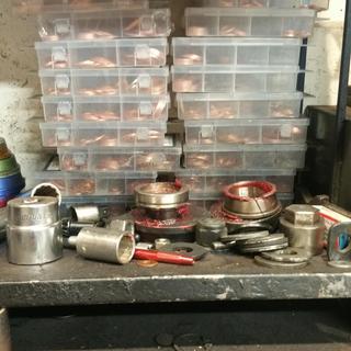 80 Piece Copper Washer Assortment