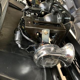 2 Piece 12V Electric Horn Set on