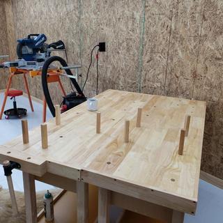 Prime 60 In 4 Drawer Hardwood Workbench Short Links Chair Design For Home Short Linksinfo