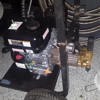 6 5 HP (212cc) OHV Horizontal Shaft Gas Engine EPA