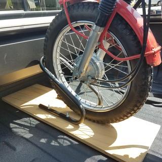 Economy Motorcycle Wheel Chock