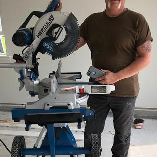 12 in  Dual-Bevel Sliding Compound Miter Saw with Precision LED Shadow Guide