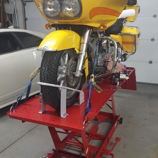 1000 Lbs  Steel Motorcycle Lift