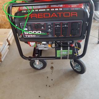 9000 Watt Max Starting Extra Long Life Gas Powered Generator - EPA III