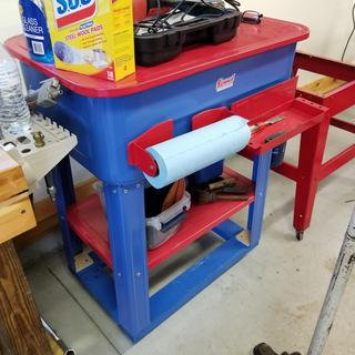 20 Gallon Parts Washer With Pump
