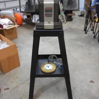 Pleasing Universal Bench Grinder Stand Short Links Chair Design For Home Short Linksinfo