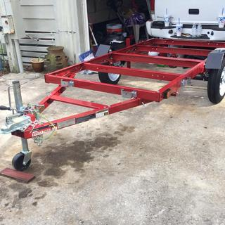 Stupendous 1195 Lbs Capacity 48 In X 96 In Heavy Duty Folding Trailer Wiring Digital Resources Lavecompassionincorg
