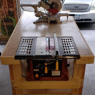 10 in , 15 Amp Benchtop Table Saw