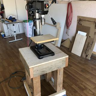 10 in  12 Speed Bench Drill Press