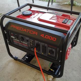 4000 Max Starting Watt Max Starting Gas Powered Generator