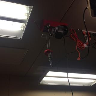 440 Lbs. Electric Hoist with Remote Control Harbor Freight Hoist Lb Wiring Diagram on