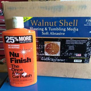 25 00 Lbs  Walnut Shell 24 Grit Fine Abrasive Media