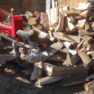 20 ton Log Splitter