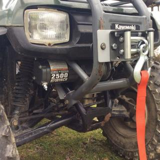 2500 Lbs  ATV/Utility Electric Winch with Wireless Remote Control