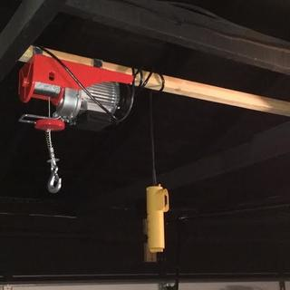 440 Lbs. Electric Hoist with Remote Control Harbor Freight Electric Hoist Wiring Diagram Lbs on