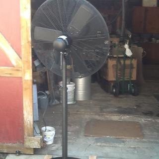 30 in  Pedestal High Velocity Shop Fan